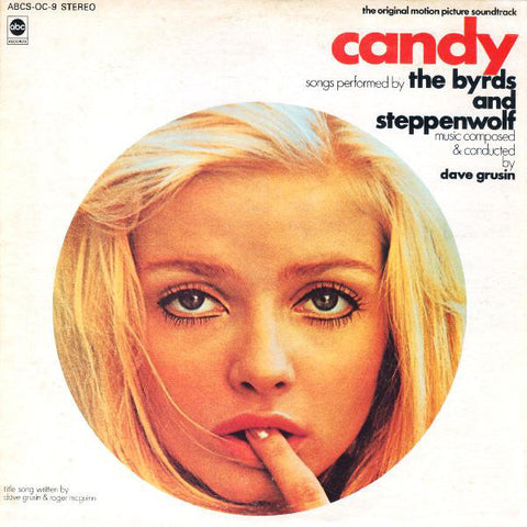 """Candy"" Original Motion Picture Soundtrack - Cond. by Dave Grusin (The Byrds, Steppenwolf) LP 1968"