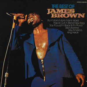 James Brown ‎– The Best Of James Brown - LP 1981