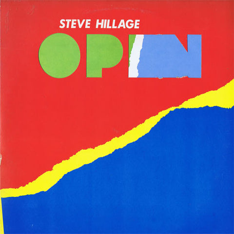 Steve Hillage ‎– Open - LP 1979
