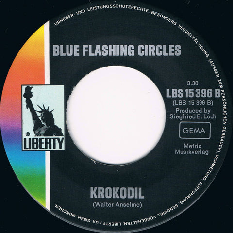Krokodil ‎– Tell Me What You Want / Blue Flashing Circles - 45lik 1970