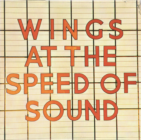 Wings ‎– Wings At The Speed Of Sound - LP 1976