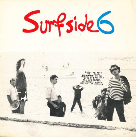Surfside 6 ‎– Cool In The Tube / School's Out - 45lik 1980