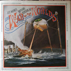 Jeff Wayne ‎– Jeff Wayne's Musical Version Of The War Of The Worlds - LP 1978