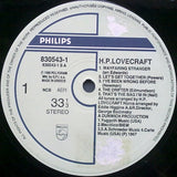 H.P Lovecraft - H.P Lovecraft - LP 1986 Reissue