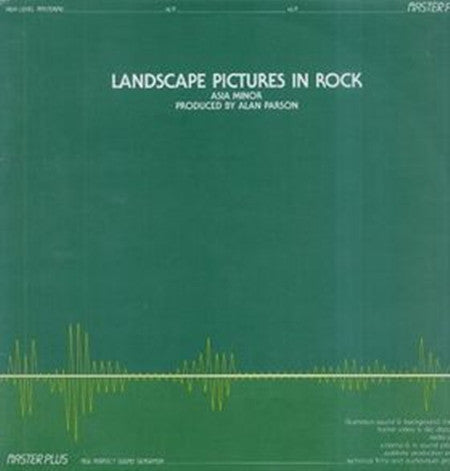 Asia Minor - Landscape Pictures in Rock - LP