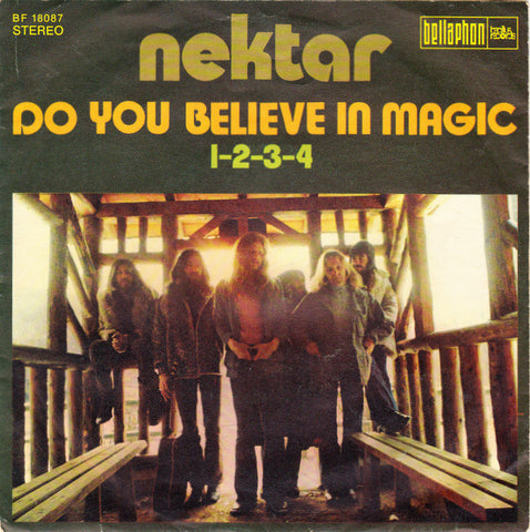 Nektar ‎– Do You Believe In Magic / 1-2-3-4 - 45lik 1972