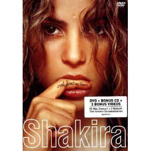 Shakira ‎– Oral Fixation Tour - DVD