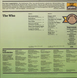 The Who ‎– Best Of The Sixties - LP 80's Reissue