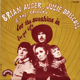 Brian Auger, Julie Driscoll & The Trinity ‎– Let The Sunshine In - 45lik 1969