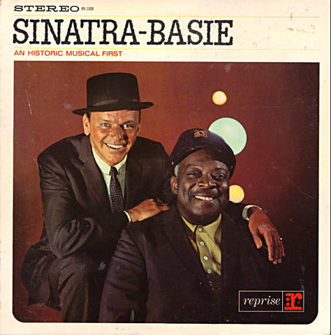 Frank Sinatra - Count Basie ‎– Sinatra-Basie (An Historic Musical First) - LP 1963