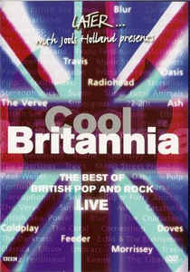 Various ‎– Later... With Jools Holland Presents Cool Britannia - DVD