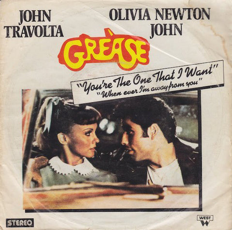 John Travolta & Olivia Newton-John ‎– You're The One That I Want - 45lik 1978