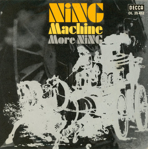 Ning - Machine / More Ning 45lik 1971