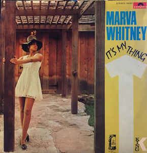 Marva Whitney ‎– It's My Thing - LP 1969 TURKISH PRESS