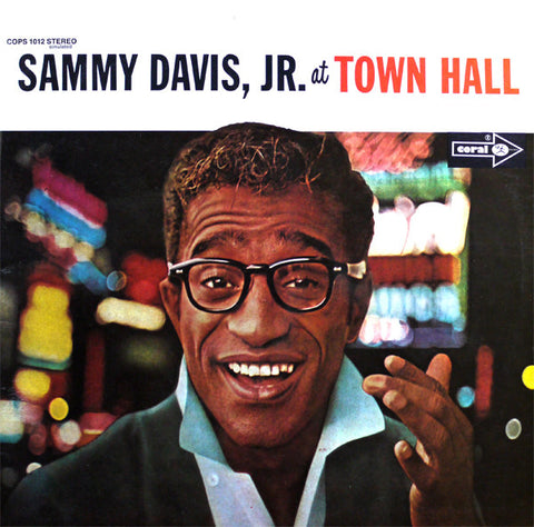 Sammy Davis, Jr ‎– Sammy Davis, Jr. At Town Hall - LP 1970