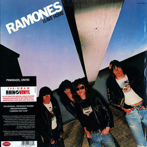 RAMONES - LEAVE HOME - 2011 REISSUE LP SIFIR