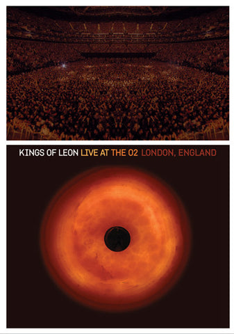 Kings Of Leon ‎– Live At The O2 London, England - DVD 2009