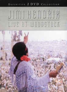 Jimi Hendrix ‎– Live At Woodstock - 2 x DVD