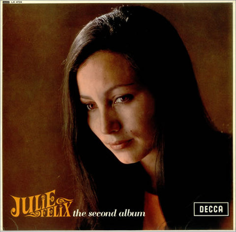 JULIE FELIX - THE SECOND ALBUM - LP 1965 (MONO)