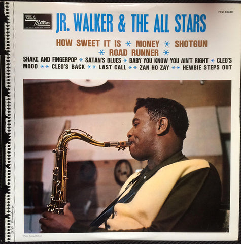 Junior Walker & The All Stars ‎– Jr. Walker And The All Stars - LP 1968