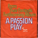 Jethro Tull ‎– A Passion Play (Edit #8) / A Passion Play (Edit #9) - 45lik 1973