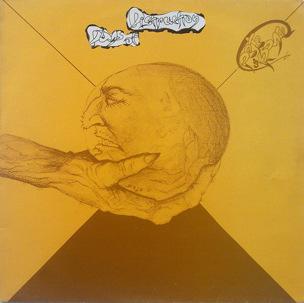Pete and Royce - Days of Destruction - LP 1987 Greek Press !