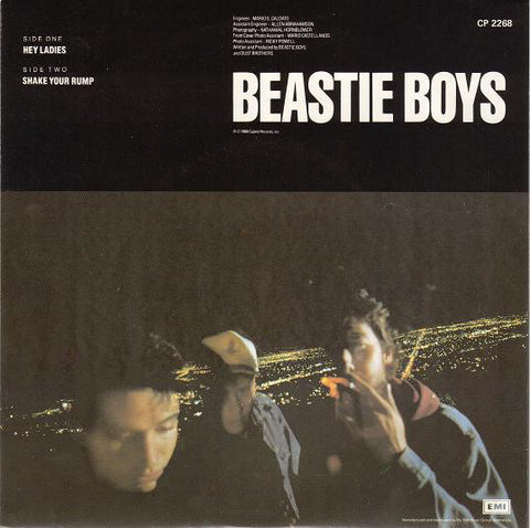 Beastie Boys ‎– Hey Ladies / Shake Your Rump - 45lik 1989