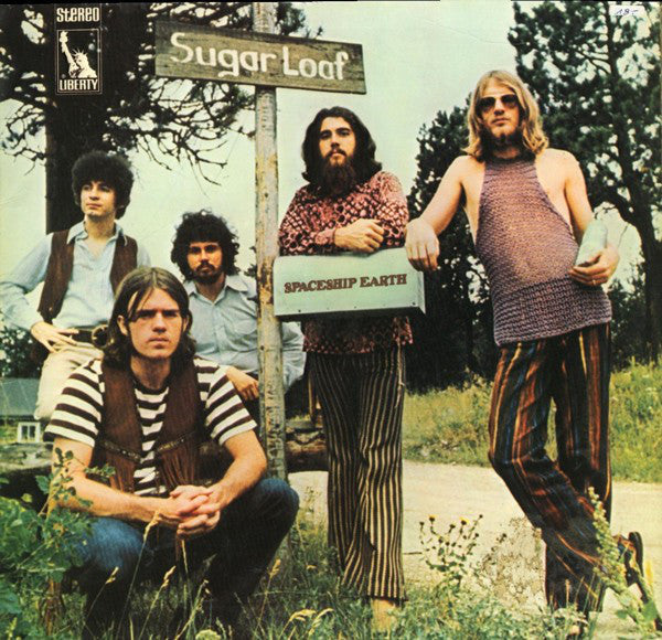Sugar Loaf - Spaceship Earth - LP 1970 German Press