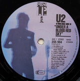 "U2 ‎– Live ""Under A Blood Red Sky"" - LP 1983"