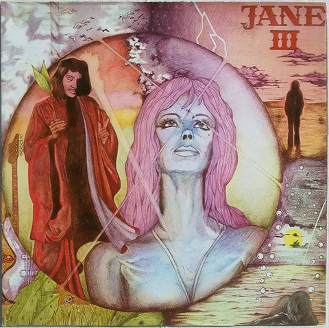 Jane - III - LP - Late 70's Reissue - Gatefold