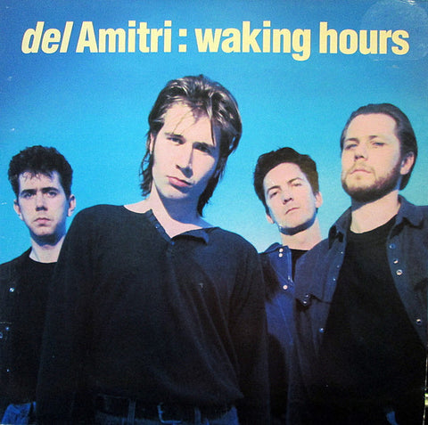 Del Amitri ‎– Waking Hours - LP 1989