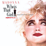 Madonna ‎– Who's That Girl (Original Motion Picture Soundtrack) - LP 1987 TURKISH PRESS !!!
