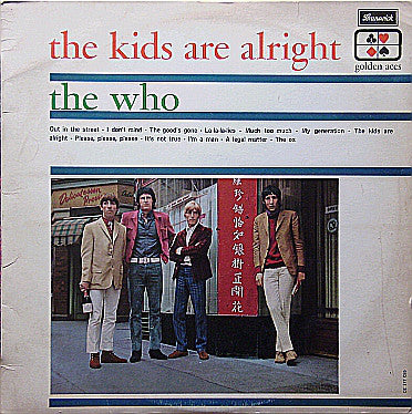 The Who ‎– The Kids Are Alright - LP 1965