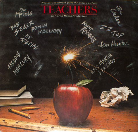 Teachers ‎– Original Soundtrack From The Motion Picture - LP 1984