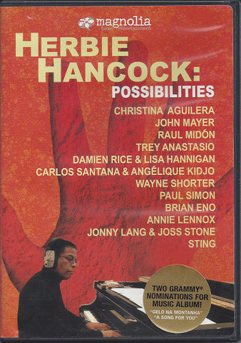 Herbie Hancock ‎– Possibilities - DVD 2006