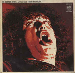 Joe Cocker ‎– With A Little Help From My Friends - LP 1969