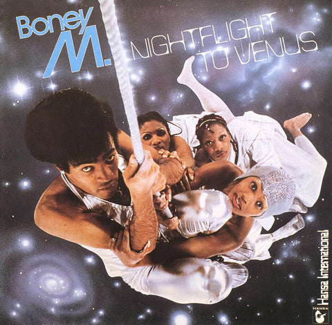 Boney M. ‎– Nightflight To Venus - LP 1978 + Gatefold + Postcards