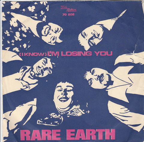 Rare Earth ‎– I'm Losing You / When Joanie Smiles - 45lik 1970