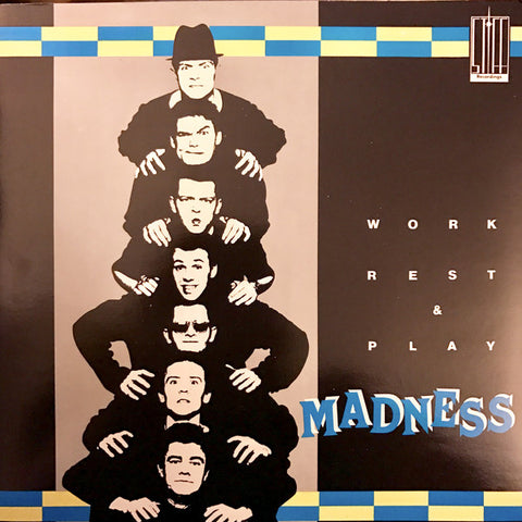 "Madness ‎– Work Rest & Play - 45'lik / 7"" - 1985"