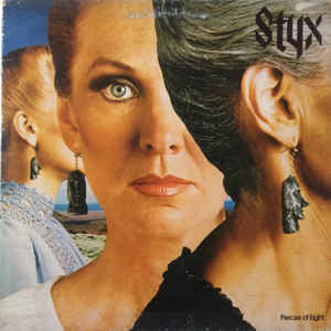 Styx ‎– Pieces Of Eight - LP 1978