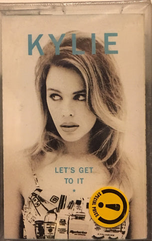 KYLIE MINOGUE - LET'S GET TO IT - KASET