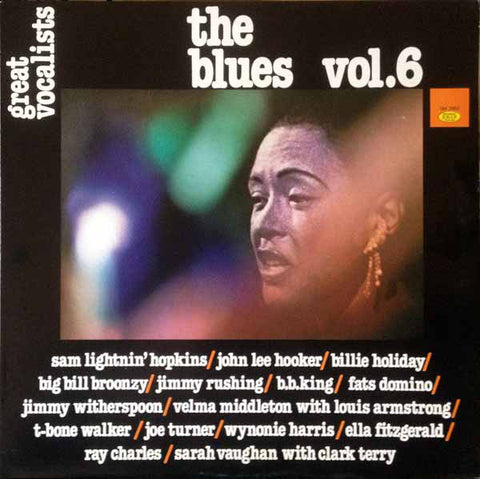Various ‎– Great Vocalists, The Blues Vol. 6 - LP 1982