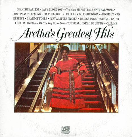Aretha Franklin ‎– Aretha's Greatest Hits - LP 1971