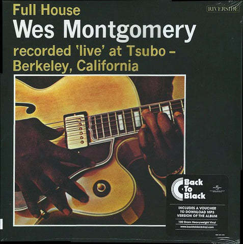 Wes Montgomery ‎– Full House - LP 2014