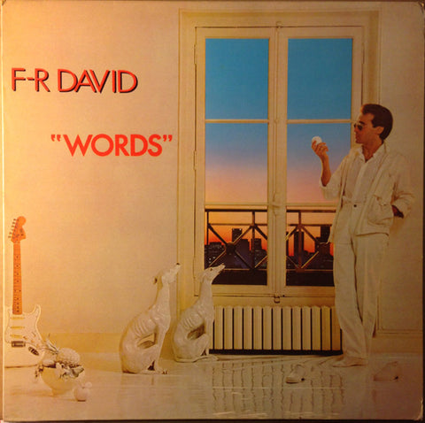 F.R. David ‎– Words - LP 1982