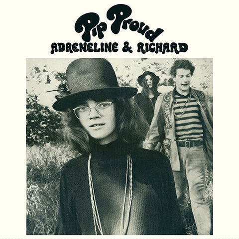 Pip Proud ‎– Adreneline & Richard - LP 2014 Reissue