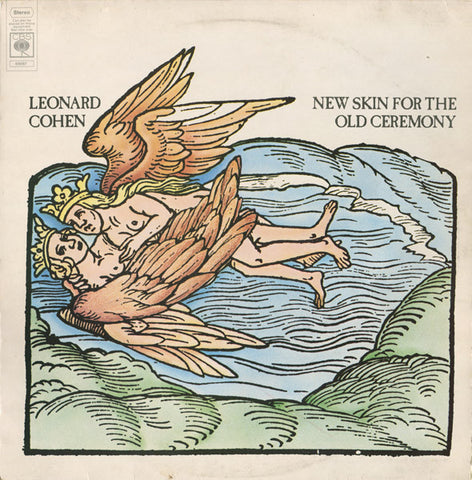 Leonard Cohen ‎– New Skin For The Old Ceremony - LP 1974