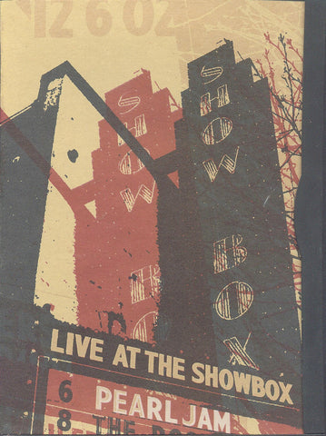 Pearl Jam ‎– Live At The Showbox - DVD 2003