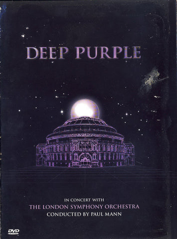 Deep Purple, The London Symphony Orchestra, Paul Mann – In Concert With The London Symphony Orchestra - DVD