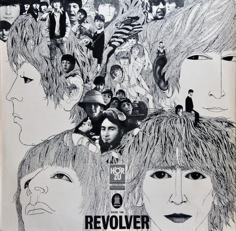 Beatles - Revolver - LP  1966 Odeon 1st Press !